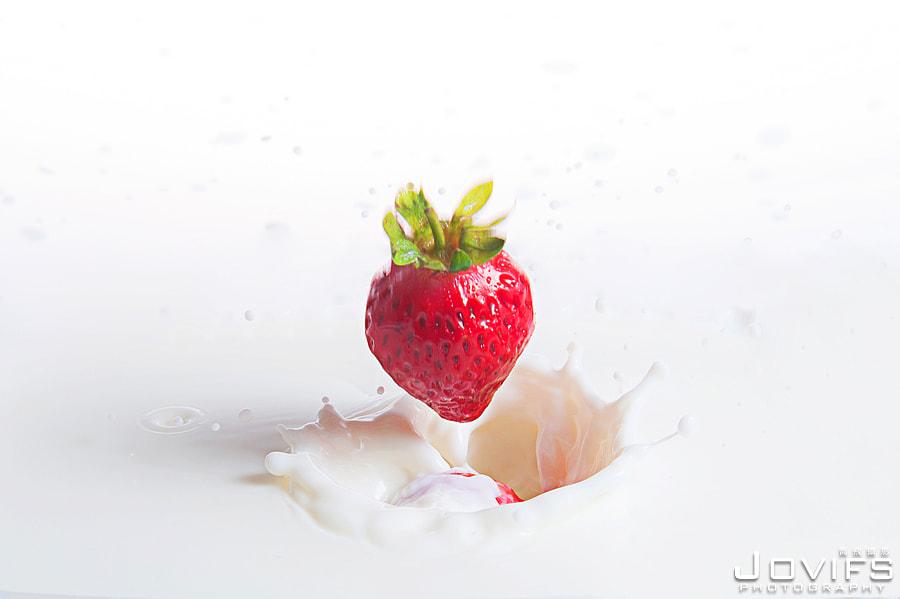 4-5『網拍/商品攝影』芝麻小事@草莓牛奶食品廣告DM拍攝
