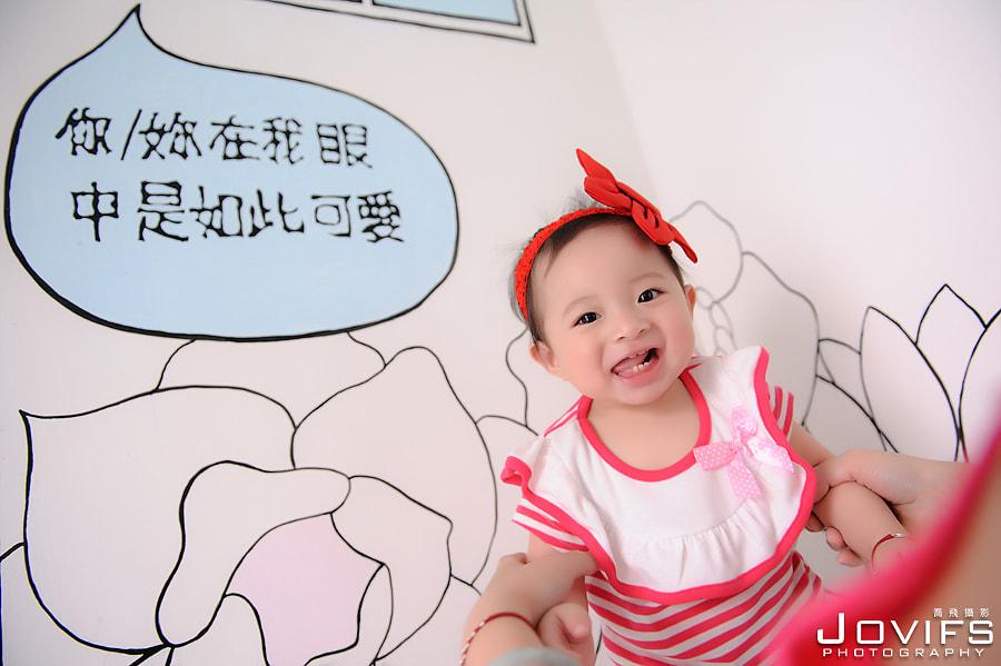 『親子寫真』彣彣@高雄週歲紀念親子寫真