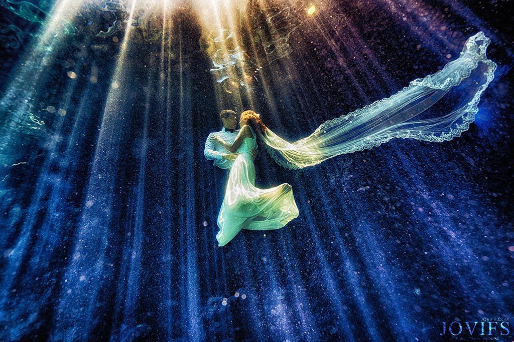 綠島海底婚紗